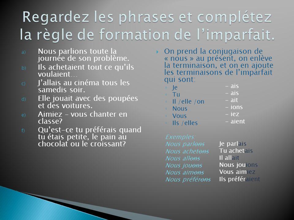 Dans le texte on trouve les phrases suivantes avec le passé composé.