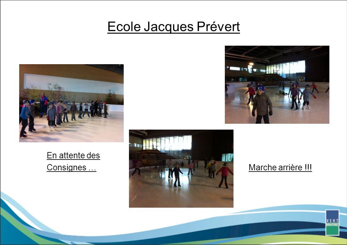 Ecole Jacques Prévert En attente des Consignes … Marche arrière !!!