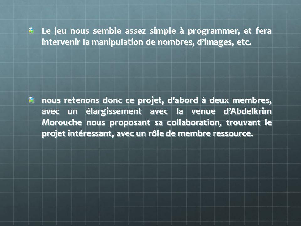 Deuxième phase de développement