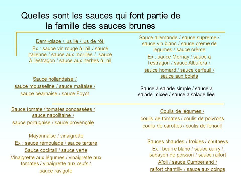 Quelle sauce au beurre va ton obtenir avec les ingrédients suivants: Sauce hollandaise Sauce mousseline Sauce béarnaise Sauce Foyot Sauce maltaise Sauce hollandaise + Réduction doranges sanguines + Garniture: zeste dorange blanchi et cuit dans du jus dorange