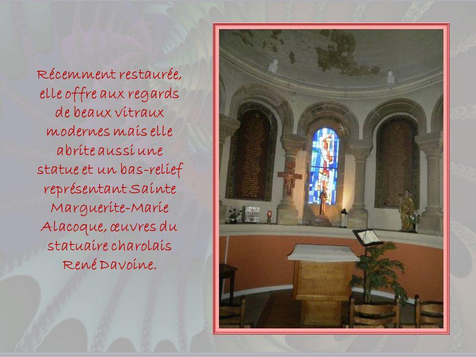 Dans la période où les églises fleurissaient nombreuses en France, soit la deuxième moitié du XIXe siècle, fut érigée lEglise du Sacré-Cœur de style n