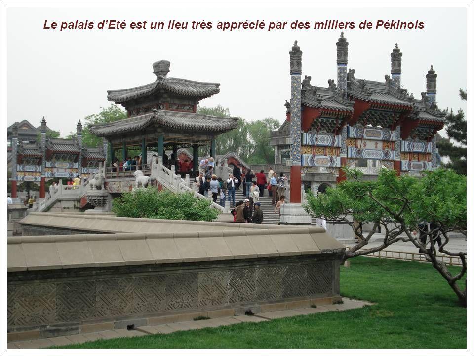 Pékin: Le palais dEté. chef dœuvre paysager et architectural