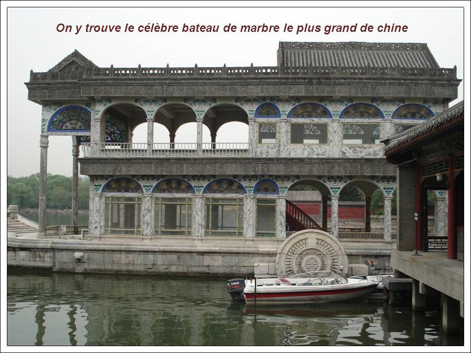 Le palais dEté est un lieu très apprécié par des milliers de Pékinois