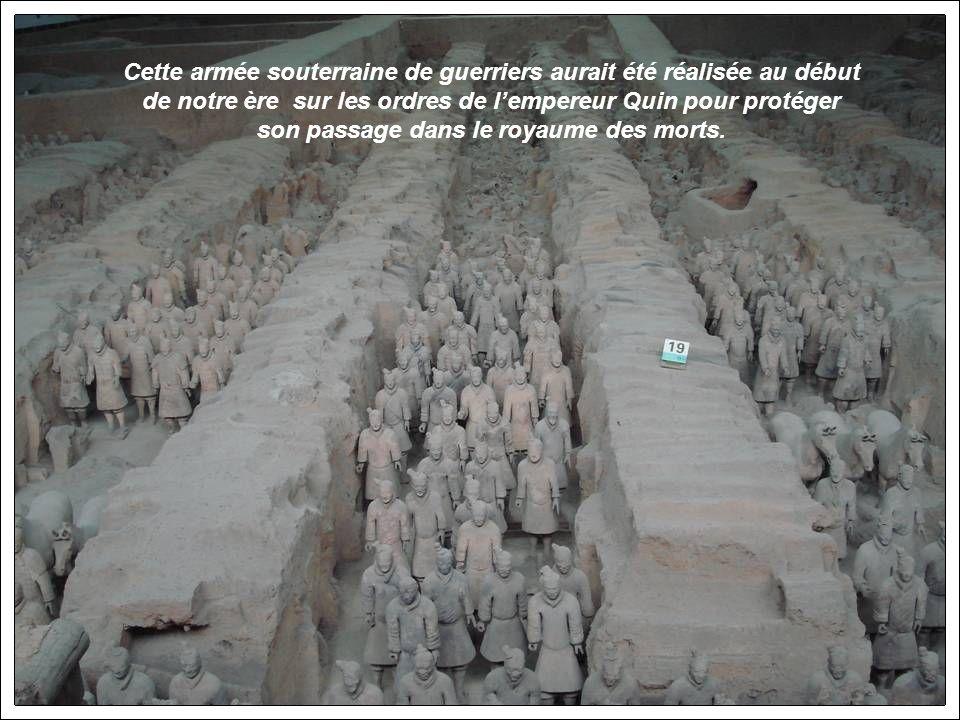 Xian: le célèbre musée de larmée enterrée des soldats dargile