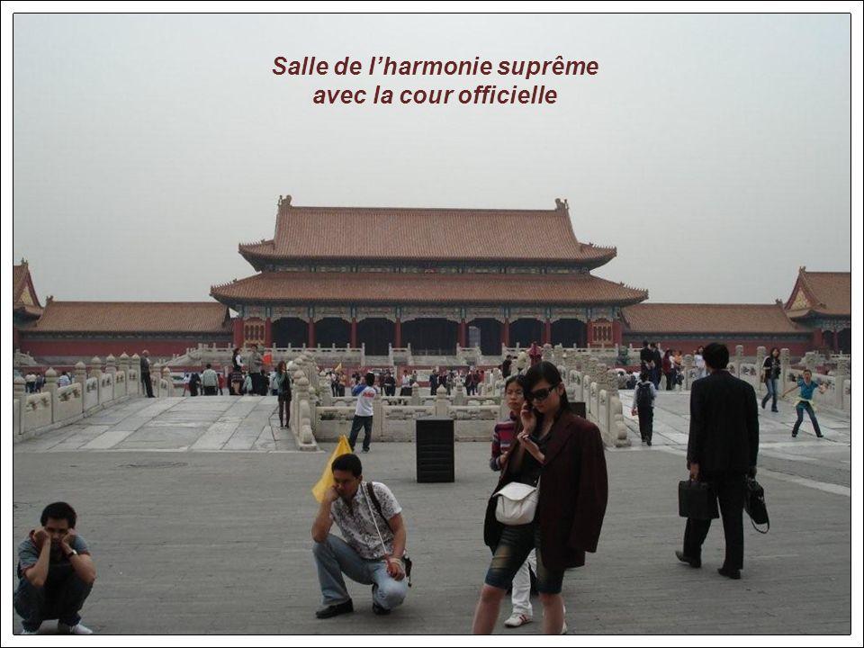 Porte de lharmonie suprême Cité interdite