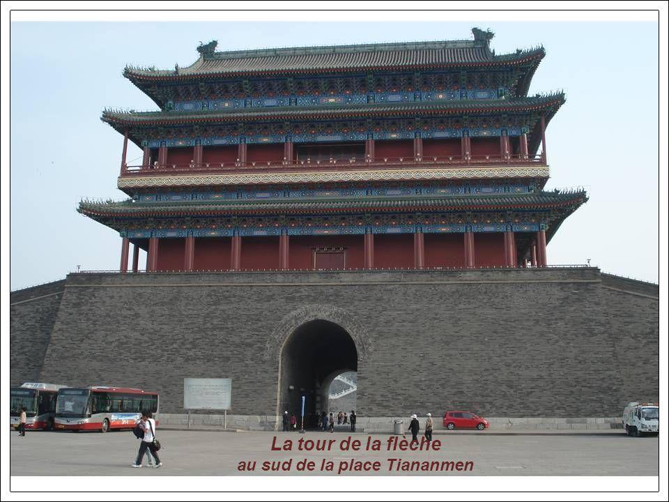 Une artère de la place Tiananmen