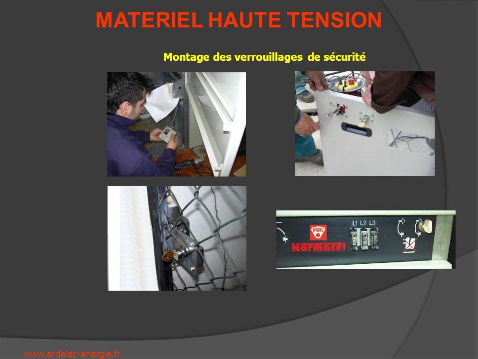 www.ardelec-energie.fr MATERIEL HAUTE TENSION Manutention des Postes de Transformation et Tableaux Eléctriques HTA/BT