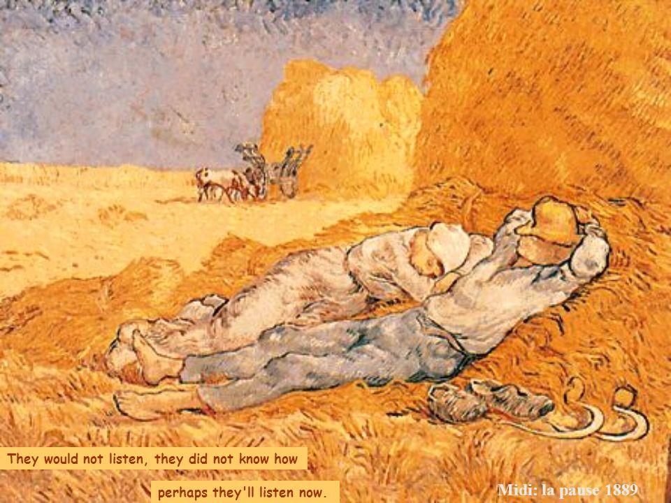 Périphérie de Paris: Route avec un paysan portant une bêche sur lépaule 1887 what you tried to say to me how you suffered for your sanity how you trie
