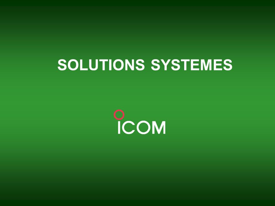 SOLUTIONS SYSTEMES