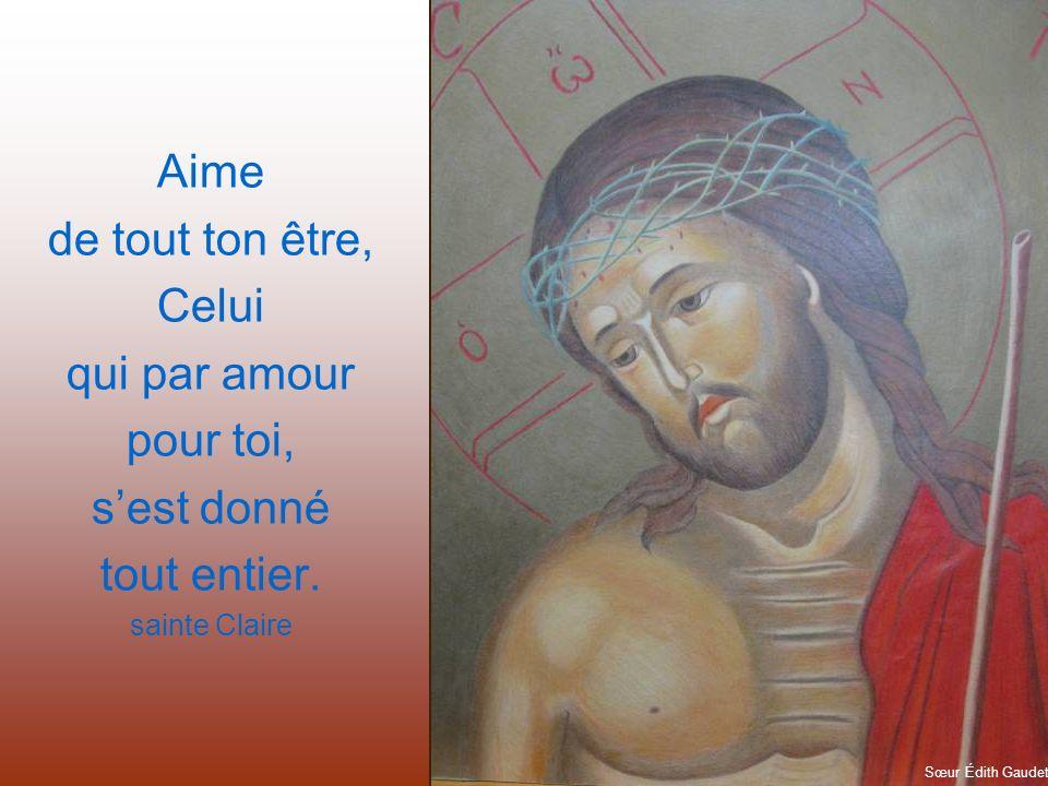 Faire Eucharistie, cest sortir de soi sans sortir du cœur de Dieu. Gérald Chaput