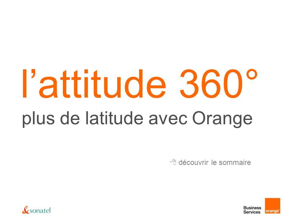 visitez www.orangebusiness.sn toujours plus loin avec Orange… GPRS dans toutes les régions du Sénégal (plus de 80% couverture) EDGE dans certaines zones de Dakar 3G+ en phase dexpérimentation sur Dakar roaming voix avec plus de 200 opérateurs roaming GPRS avec 12 pays dont la France, la Côte dIvoire, le Mali.
