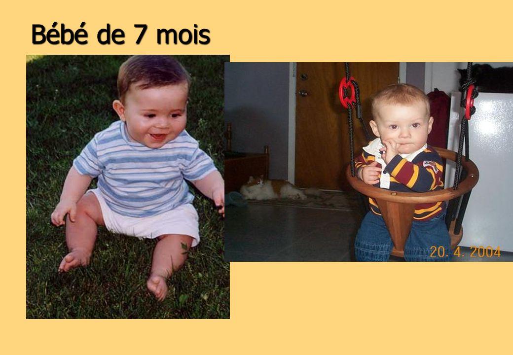 Bébé de 7 mois