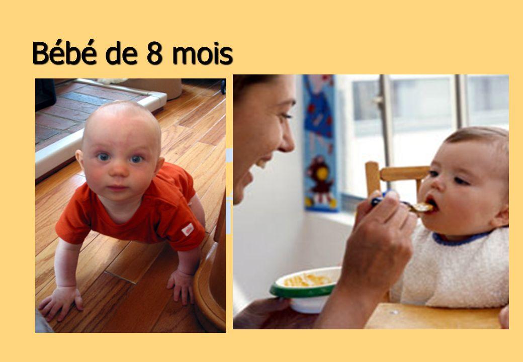 Bébé de 8 mois
