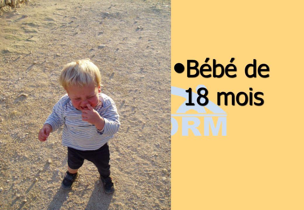 Bébé de 18 mois Bébé de 18 mois