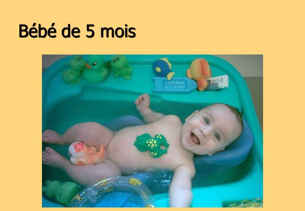 Bébé de 5 mois