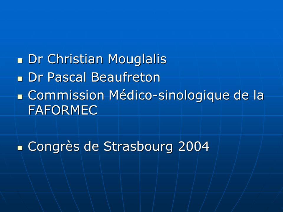 Dr Christian Mouglalis Dr Christian Mouglalis Dr Pascal Beaufreton Dr Pascal Beaufreton Commission Médico-sinologique de la FAFORMEC Commission Médico-sinologique de la FAFORMEC Congrès de Strasbourg 2004 Congrès de Strasbourg 2004