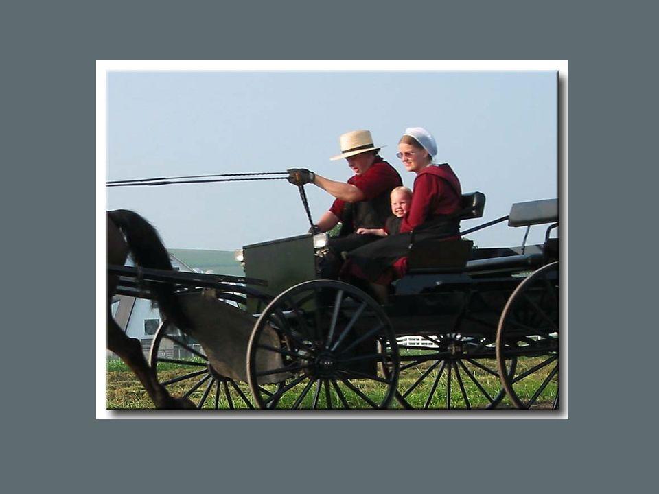 Les habitations des Amish sont de toutes petites maisons sans le moindre confort moderne, où il n y a ni eau courante, ni électricité, puisque leur religion l interdit.