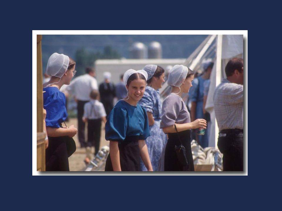 Les Amish ne composent pas une secte mais une communauté.