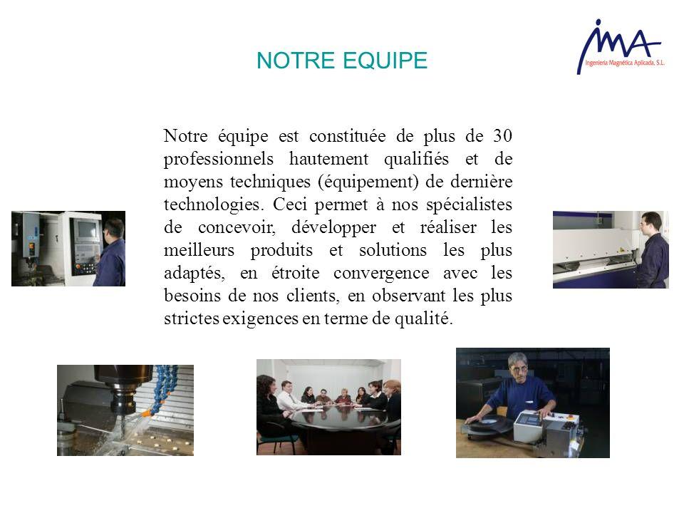 Notre équipe est constituée de plus de 30 professionnels hautement qualifiés et de moyens techniques (équipement) de dernière technologies. Ceci perme