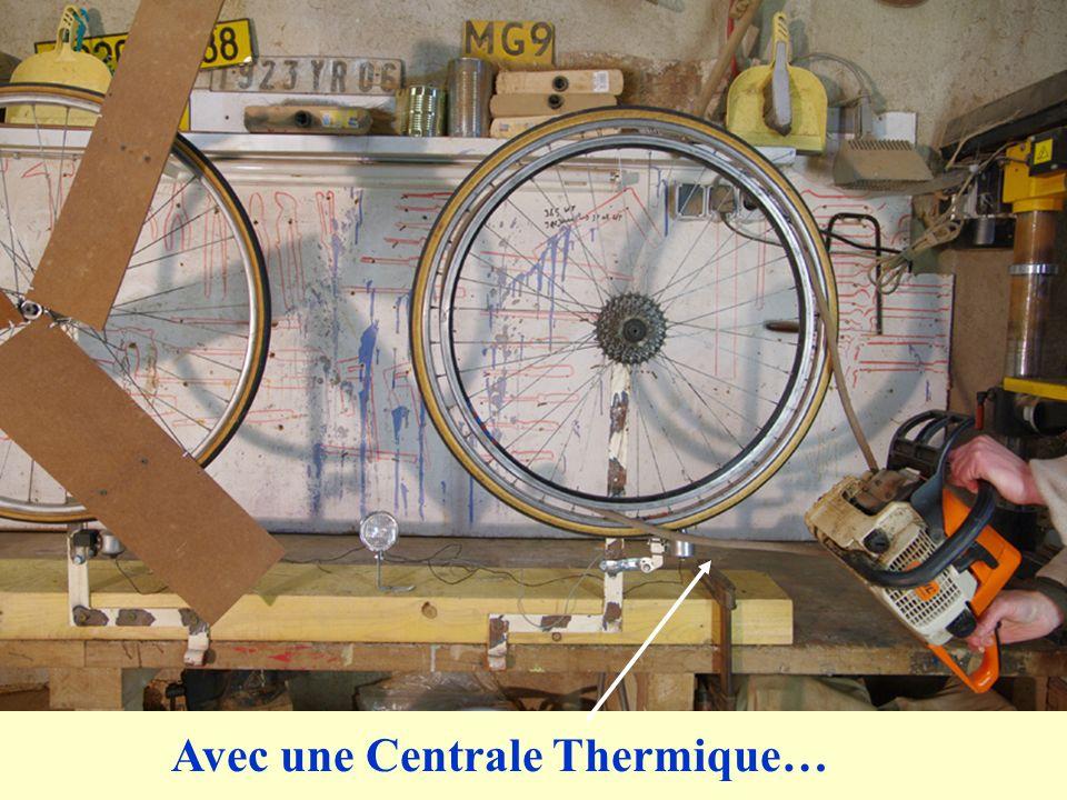 Avec une Centrale Thermique…