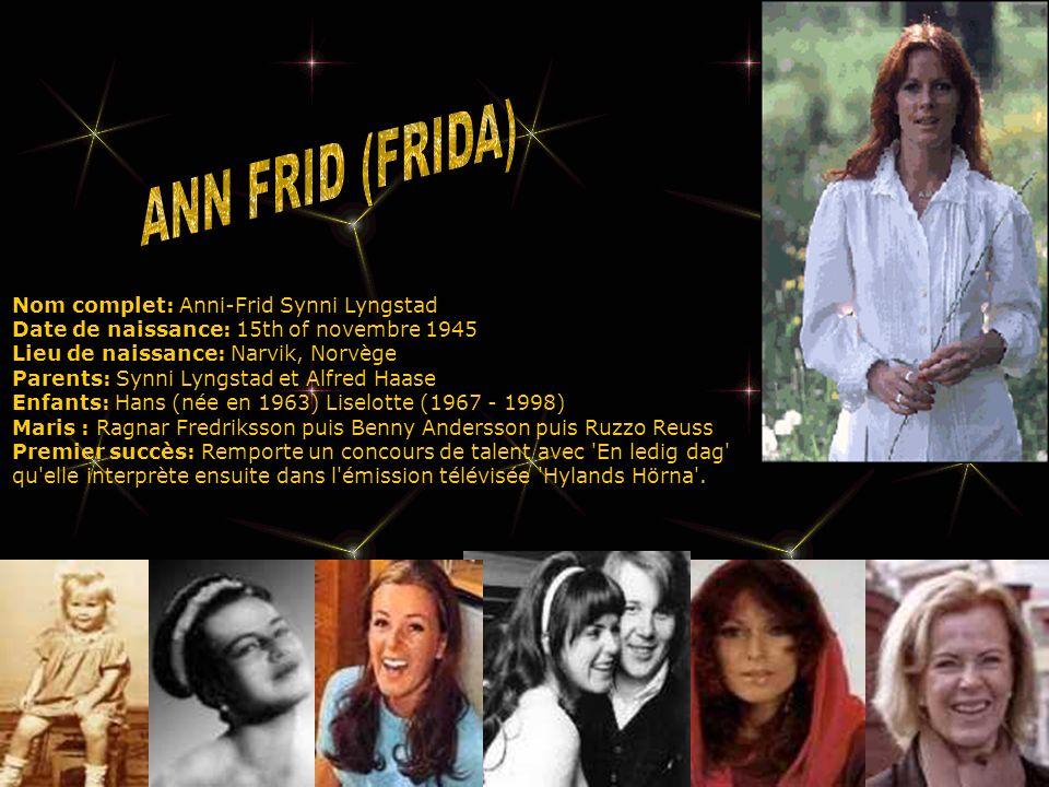 1982: Cette année marque la fin d ABBA en tant que groupe.