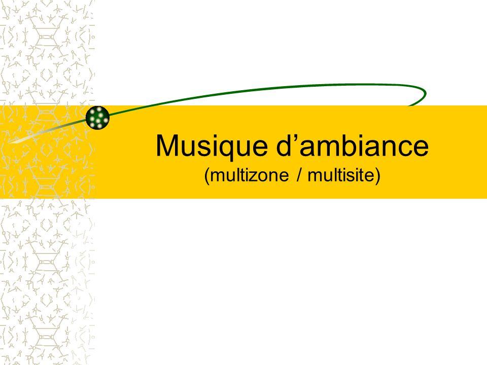 Musique dambiance (multizone / multisite)