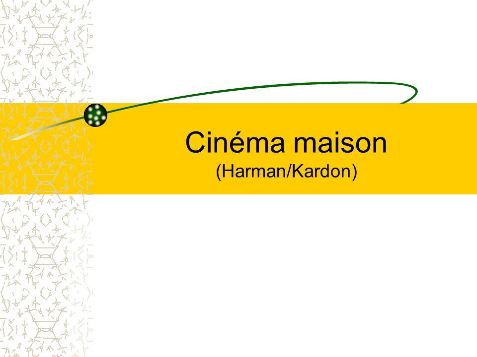 Cinéma maison (Harman/Kardon)