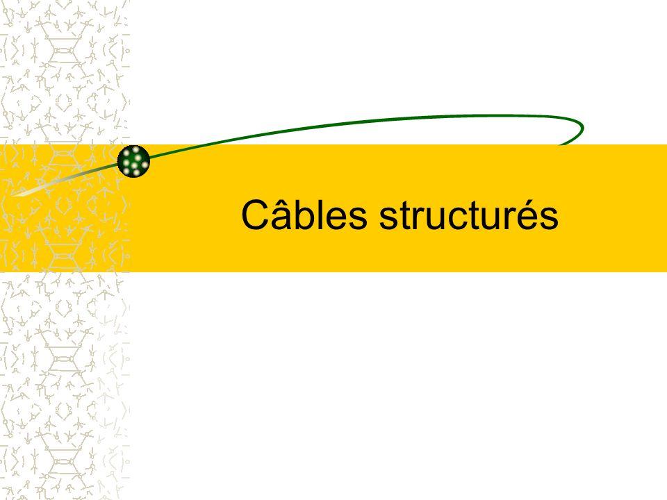 Câbles structurés
