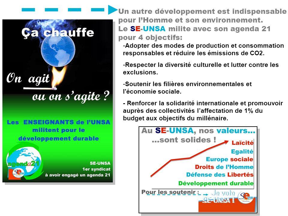 -A-Adopter des modes de production et consommation responsables et réduire les émissions de CO2. -R-Respecter la diversité culturelle et lutter contre