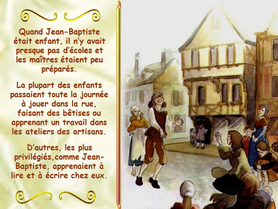 Louis de La Salle voulait faire de son fils aîné un véritable seigneur, cultivé et chrétien.