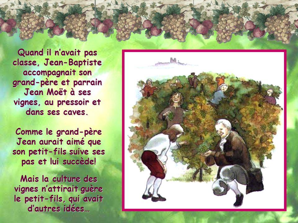 Quand Jean-Baptiste eut dix ans,son père linscrivit au Collège des Bons Enfants.