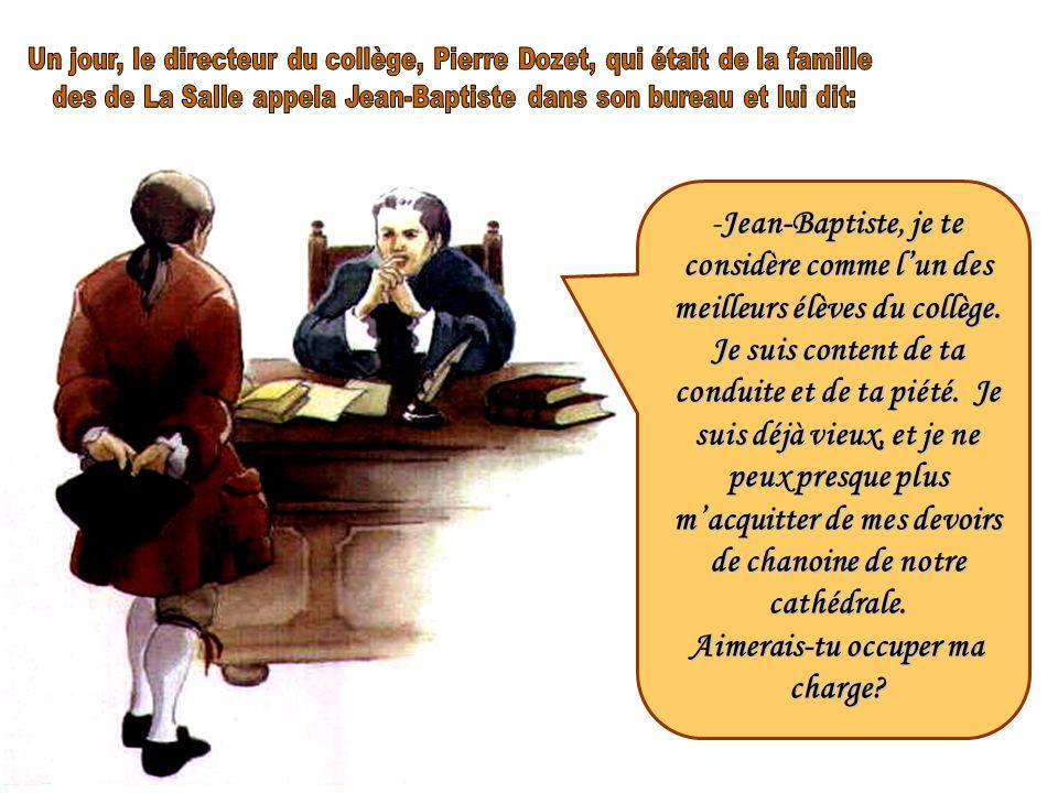 Quand il navait pas classe, Jean-Baptiste accompagnait son grand-père et parrain Jean Moët à ses vignes, au pressoir et dans ses caves.