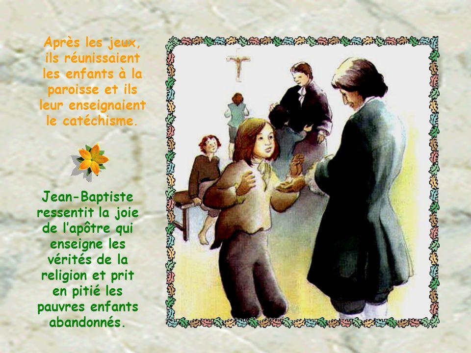 A Paris, il logeait au séminaire de Saint- Sulpice.