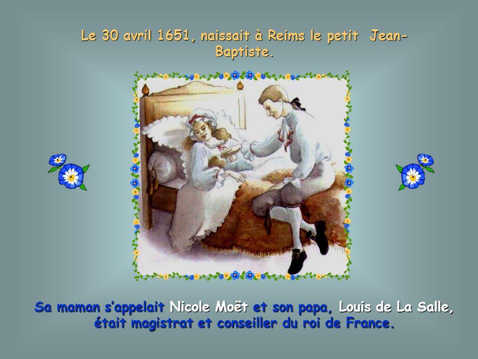 Cette histoire a commencé il y a plus de 300 ans en France, à REIMS, ville célèbre pour ses vignobles et ses vins.