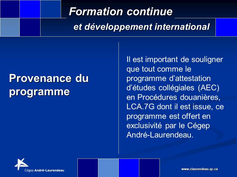 www.claurendeau.qc.ca Formation continue et développement international Conditions de travail Aires ouvertes Emplois de bureau Horaires à temps plein