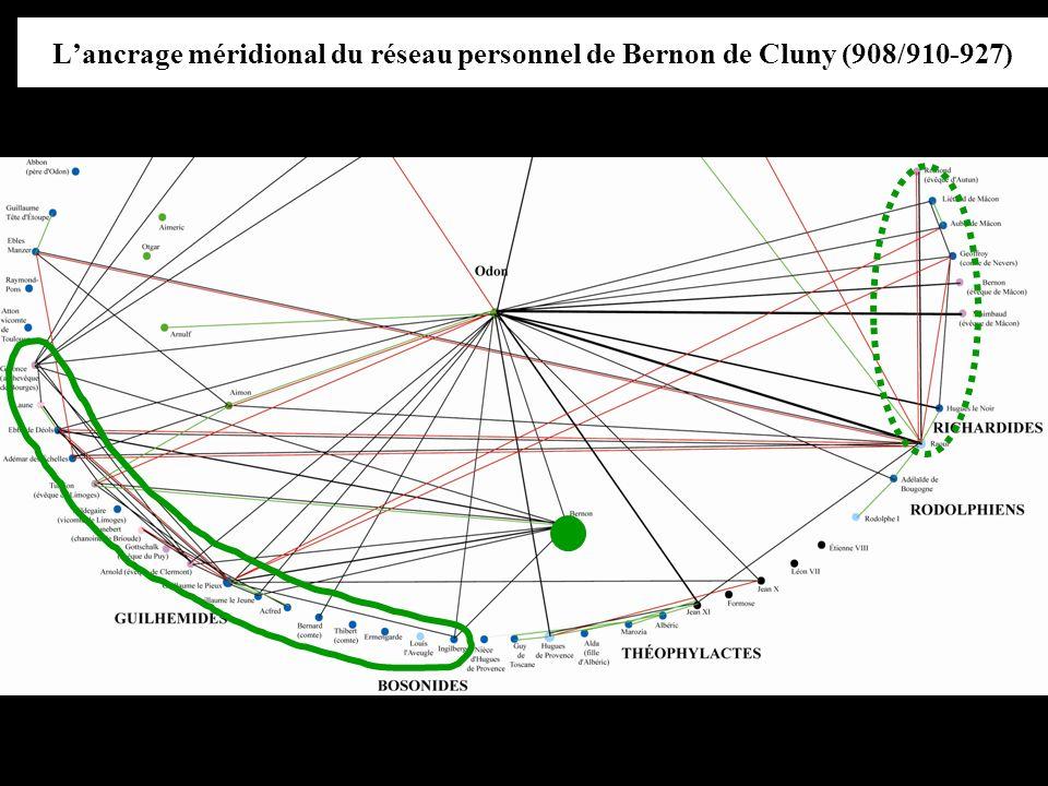 Lancrage méridional du réseau personnel de Bernon de Cluny (908/910-927)