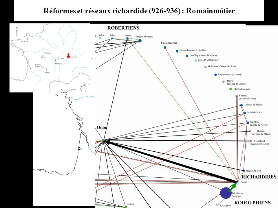 Réformes et réseaux richardide (926-936) : Romainmôtier