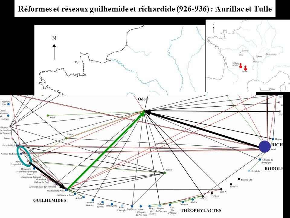 Réformes et réseaux guilhemide et richardide (926-936) : Aurillac et Tulle