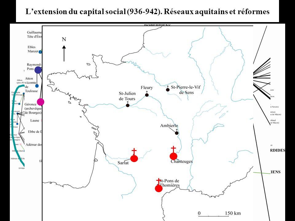 Lextension du capital social (936-942). Réseaux aquitains et réformes