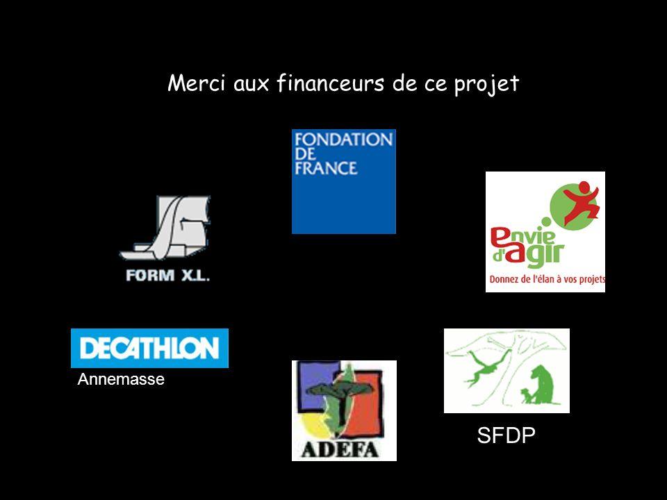 Merci aux financeurs de ce projet Annemasse SFDP