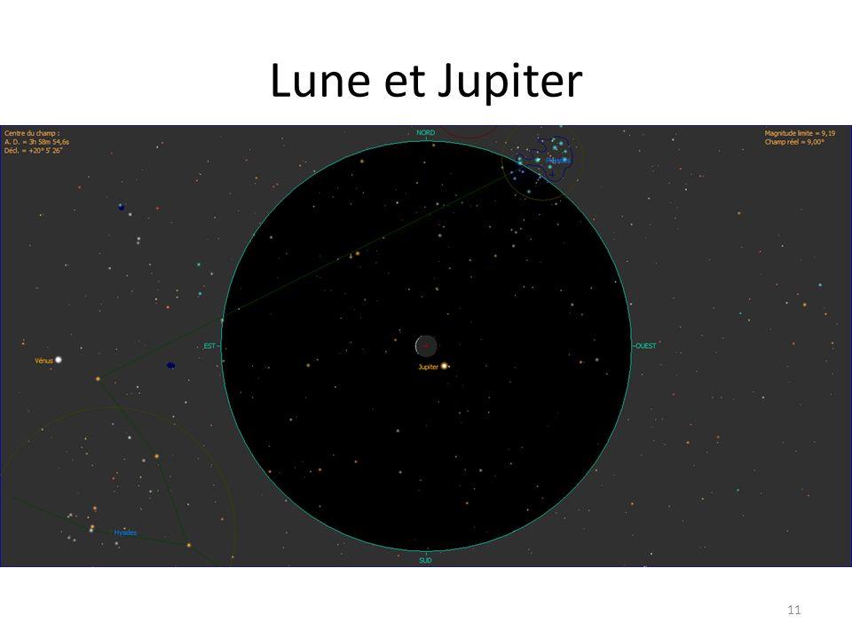 Lune et Jupiter 11