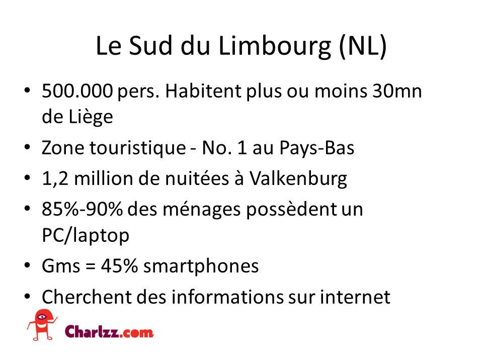 Le Sud du Limbourg (NL) 500.000 pers. Habitent plus ou moins 30mn de Liège Zone touristique - No.