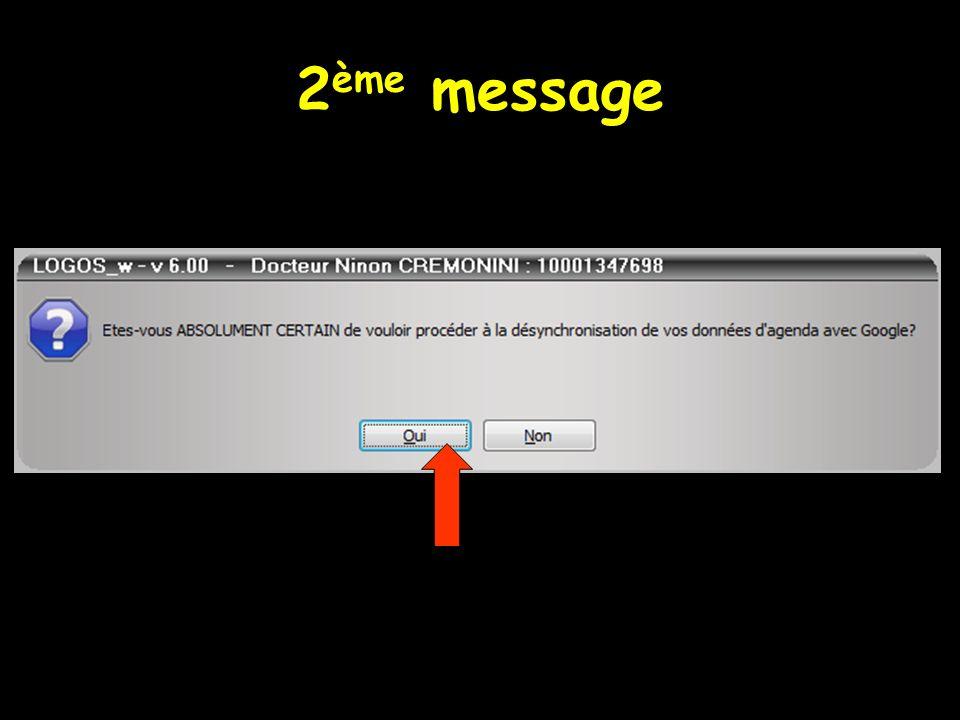 2 ème message