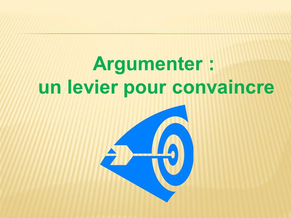 Argumenter : un levier pour convaincre