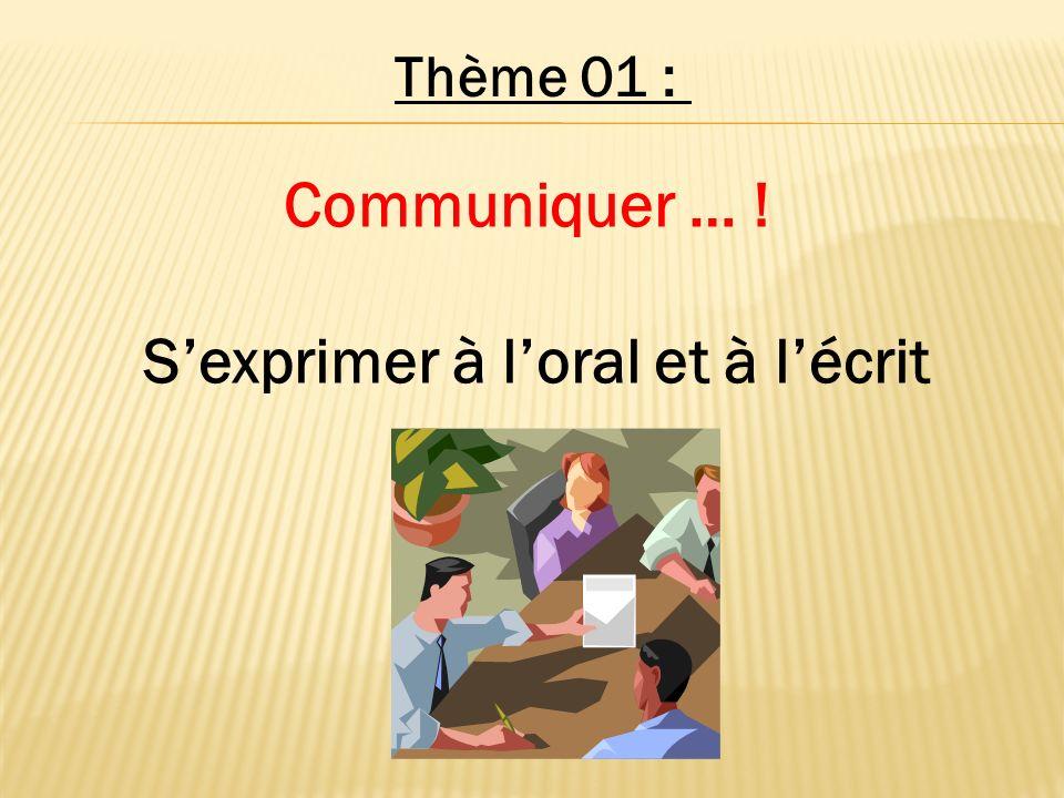 Les bases pour s en sortir à l oral dans sa langue maternelle…!!!