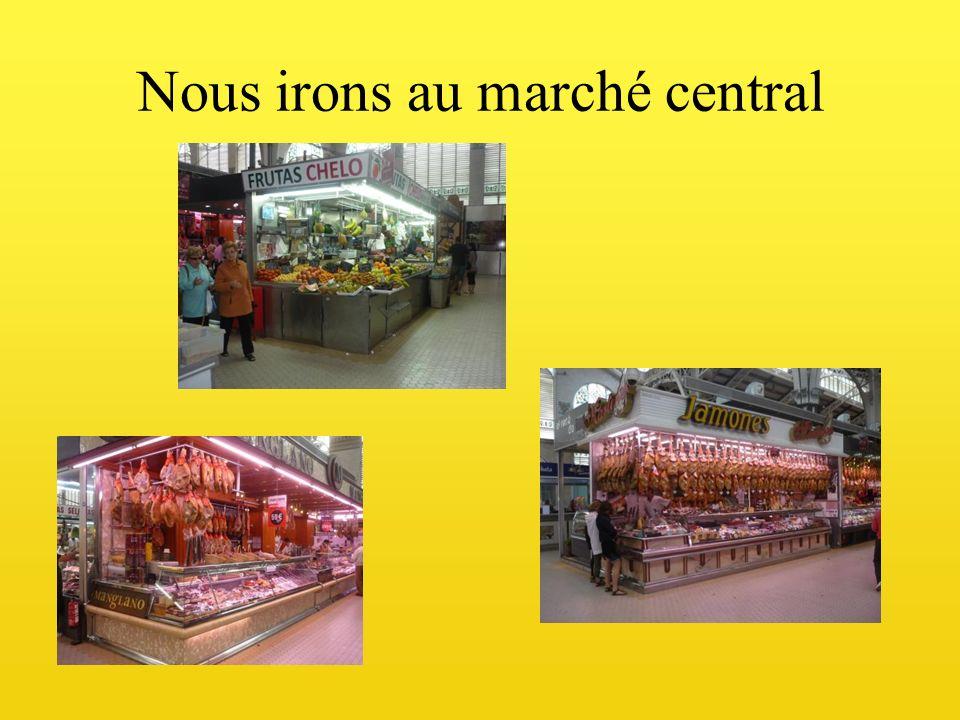 Nous irons au marché central