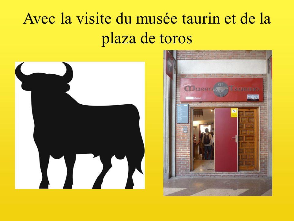 Avec la visite du musée taurin et de la plaza de toros