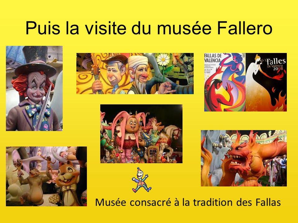 Puis la visite du musée Fallero Musée consacré à la tradition des Fallas