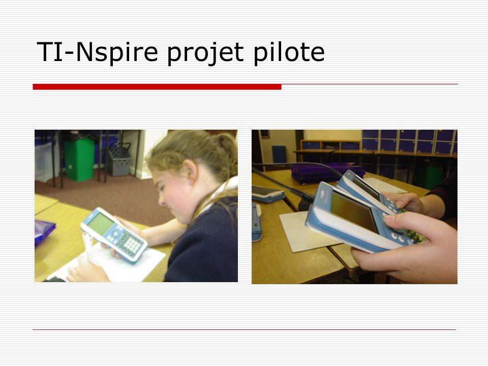 TI-Nspire projet pilote