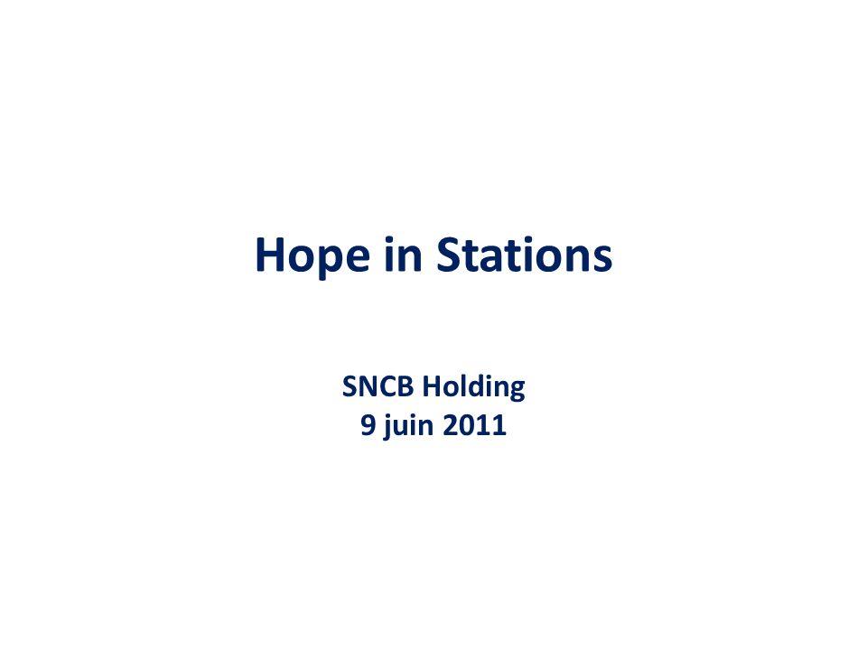 5.Mise en place de réunion déchange collective Réunions Interne SNCB - Demande dune vision commune concernant la question du sans abrisme.